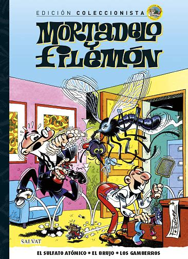 libro mortadelo y filemon libro n 186 5 el sulfato at 243 mico el brujo los gamberros mortadelo y filem 243 n editorial salvat