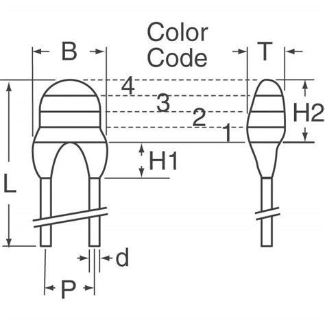 thermal resistor color code ntcle100e3103jb0 vishay bc components sensors transducers digikey