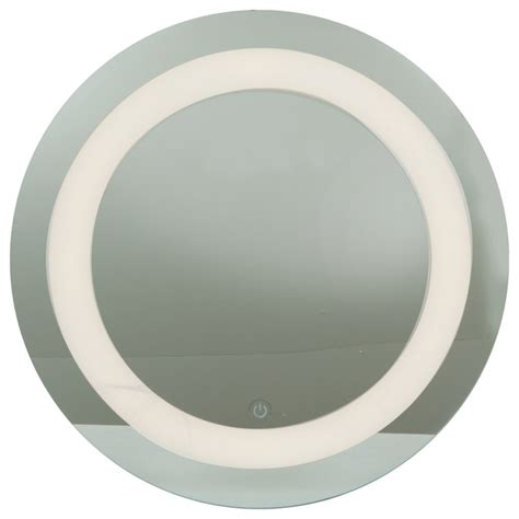 glass bathroom mirrors spa d location round mirror led mirror finish with