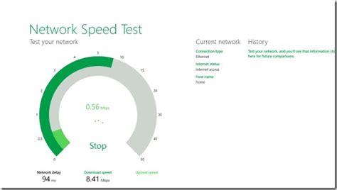 network speed test network speed test app for windows 10 8 1