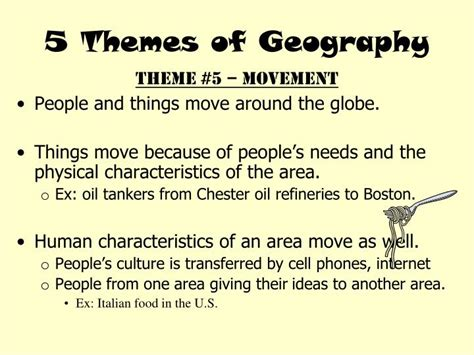 5 themes of geography boston ppt 5 themes of geography powerpoint presentation id
