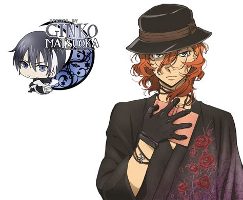 bungou stray dogs chuuya render nakahara chuuya bungou stray dogs 4 by ginkochan ediciones on deviantart