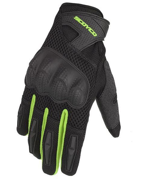 scoyco mc yazlik korumali eldiven neon siyah fiyat