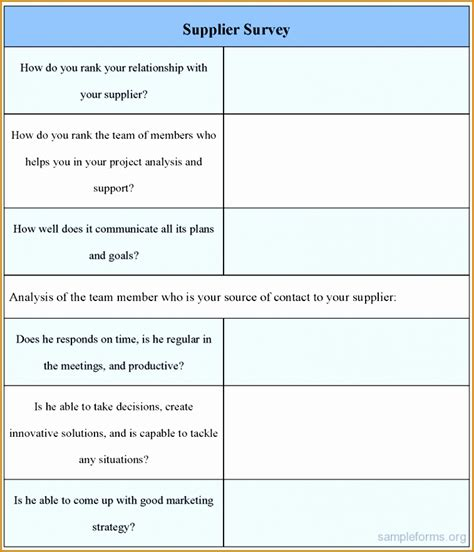 Sle Letter Of Supplier Evaluation Results fantastic supplier performance review template ideas