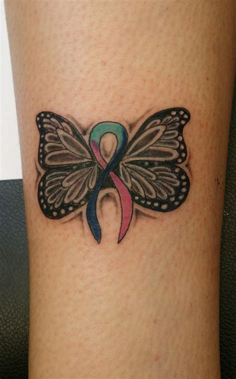 butterfly memorial tattoo 17 best images about thyroid cancer on