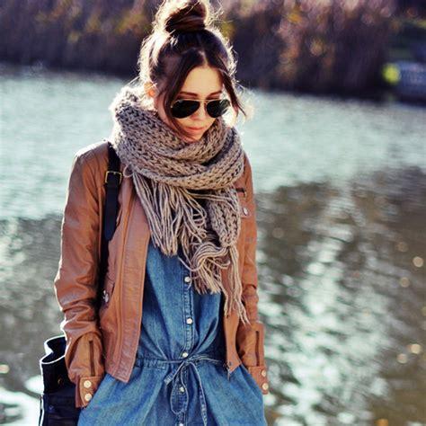 best scarves for winter 2012 popsugar fashion