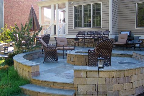Backyard Patios With Pits patio ideas with pit on a budget interior home