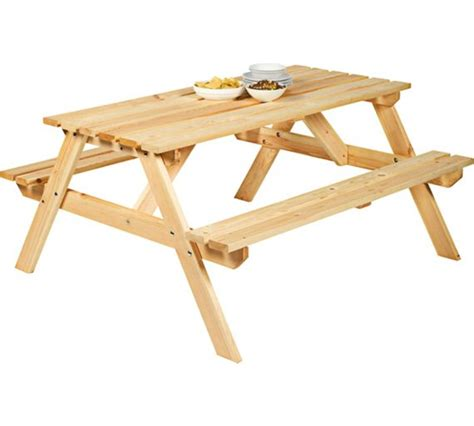 bench watches argos buy natural pine picnic bench at argos co uk your online shop for garden benches and