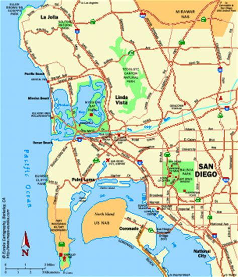map of san diego ca california map san diego