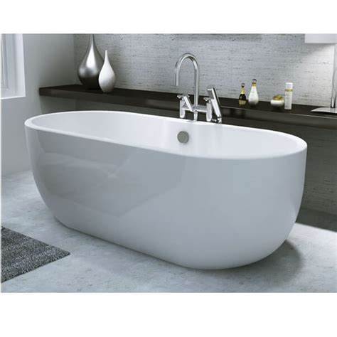 freestanding modern bathtubs synergy san marlo modern freestanding bath 1555 x 745 x 580mm