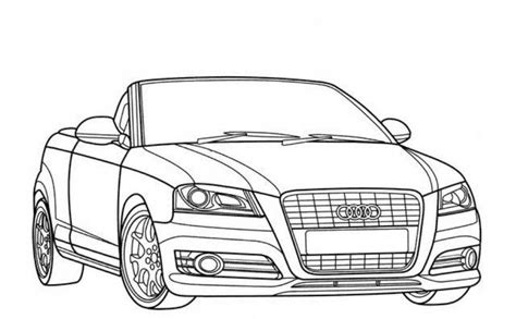 Ausmalbilder Audi by Muscle Cars Coloring Pages Coloring Home