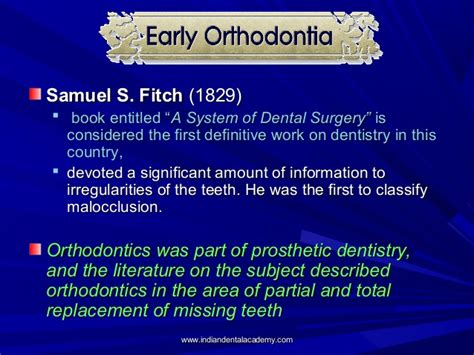 Cd E Book The Journal Of Prosthetic Dentistry history of orthodontics certified fixed orthodontic courses by indi