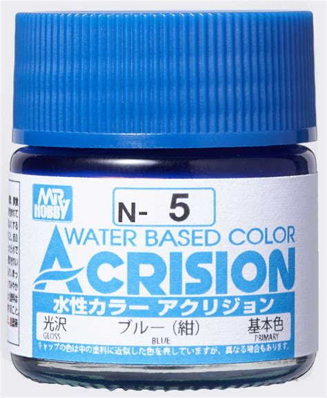 Mr Acrysion Water Based N11 Flat White Mr Hobby mr hobby acrysion color