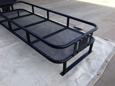 polaris ranger bed rack utv rax polaris cargo rack bed extender with mesh bottom