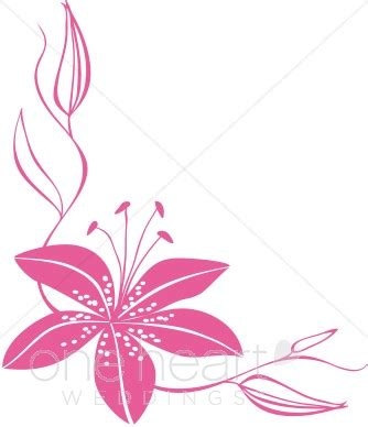 Flowers For Mother S Day Pink Flower Frame Clip Art 68