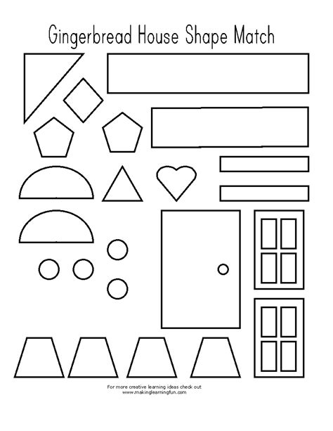 printable gingerbread house pieces zoo coloring pages for preschoolers zoo best free