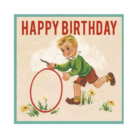 Birthday For Cards Vintage Birthday Boy Card Elfie Children S Clothes