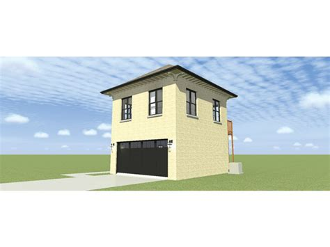 colonial garage plans two bay garage with two bedroom apartment hwbdo76747