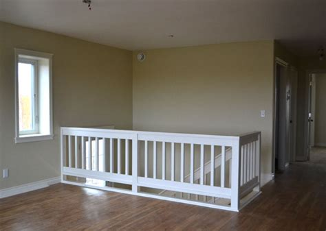 Building A Banister On A Staircase Stair Railing White