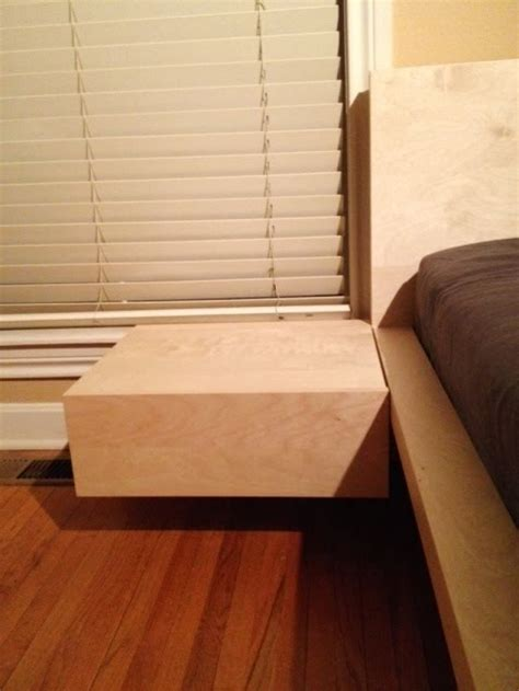 Ikea Malm Bed With Nightstands Malm King Bed With Floating Nightstands Ikea Hackers Ikea Hackers Malm Nightstand
