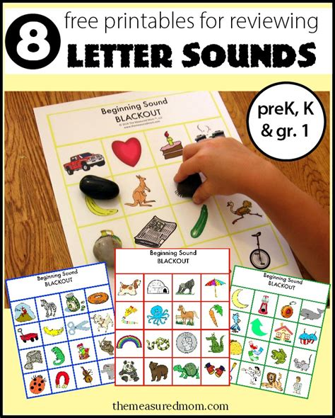 printable letters and sounds games review letter sounds with beginning sound blackout 8 free