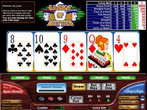 classic jacks   video poker