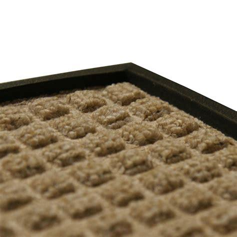 nottingham rubber backed carpet mat
