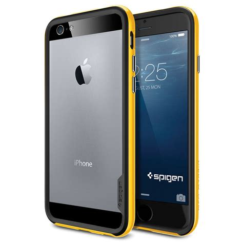 Casing Back Sgp Spigen Neo Hybrid Iphone 77 Plus Soft spigen neo hybrid ex for iphone 6 reventon yellow