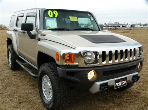 h3 hummers for sale used car for sale maryland 2009 hummer h3 4wd