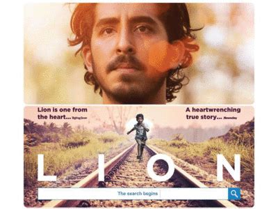 4 lion film production lion gets its first official india poster english