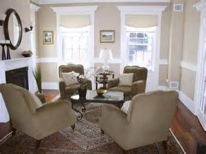 4 Club Chairs Rectangular Arrangement Natalie H 4 Chairs In Living Room