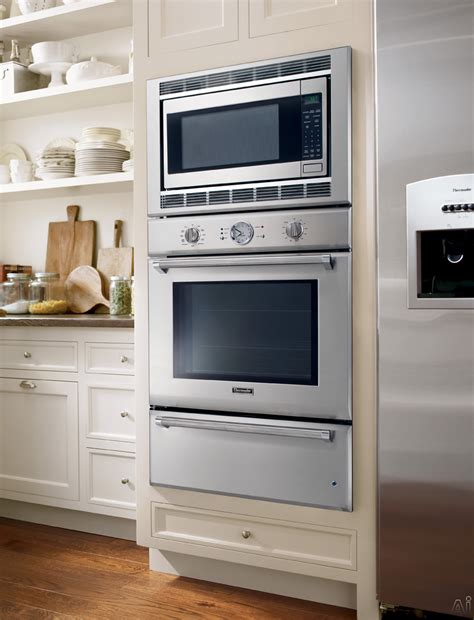Wall Oven With Warming Drawer Combo by Thermador Pomw301 30 Quot Combination Wall Oven With