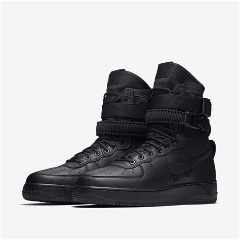 air force boat nike air force one black boots