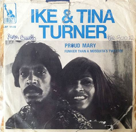 ike tina turner quot proud quot 1971 45 rpm record sleeve