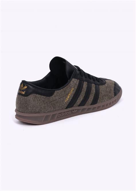 Sepatu Casual Sepatu Adidas Hambrug Royal Blue White Gum adidas originals hamburg trainer