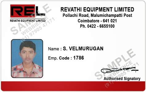employee id card template student id card template images