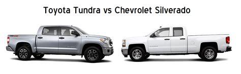 Chevy Vs Toyota 2014 Tundra Vs 2014 Silverado Limbaugh Toyota Reviews