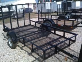yard trailer lawn trailer ez pull trailers