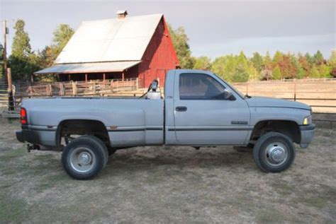 books about how cars work 1994 dodge ram wagon b350 on board diagnostic system purchase used 1994 dodge ram 3500 4x4 cummins diesel in roseburg oregon united states
