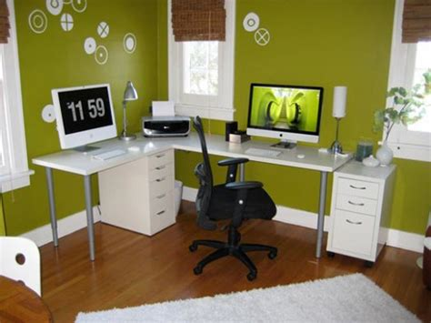 How To Decorate A Small Office | how to decorate a home office on a budget