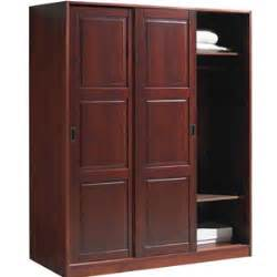 sliding door closet wardrobe solid wood 3 sliding door