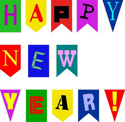 new year banners to make 84 best free digital st and clip freebies images on