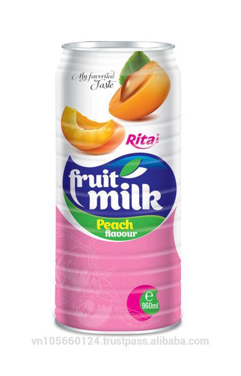 fruit milk fruit milk flavour label beverages