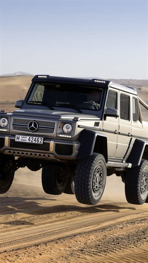 Wallpaper Mercedes Benz G 63 AMG 6x6, SUV, Mercedes
