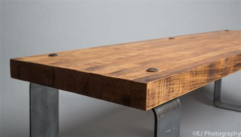 Work Bench Table 555 Custom Designs Butcher Block Bench