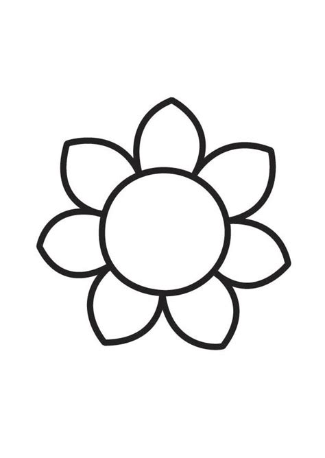 Small Flower Coloring Pages Coloring Pages Small Coloring Pages