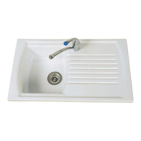 clearwater sonnet double bowl and drainer white ceramic clearwater sonnet white ceramic single bowl sink with
