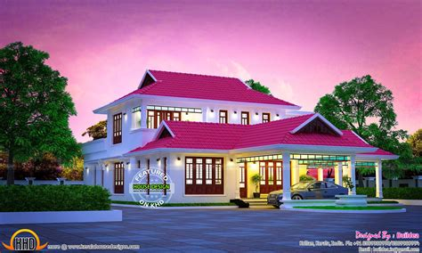 kerala home design moonnupeedika kerala july 2016 kerala home design and floor plans