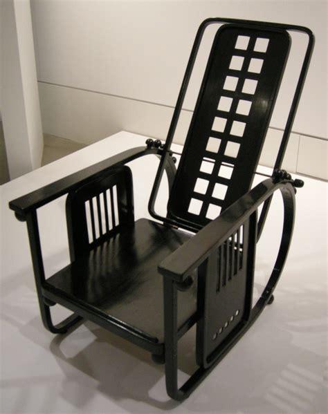 file ngv design josef hoffmann adjustable back chair