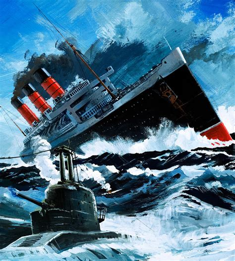 sinking of the lusitania sinking of the lusitania painting by